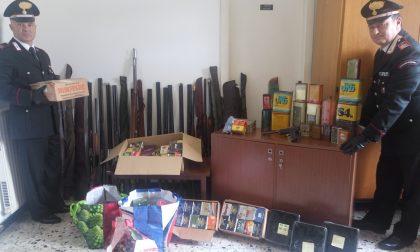 Migliaia di munizioni detenute abusivamente: denunciato un 50enne di Casarza
