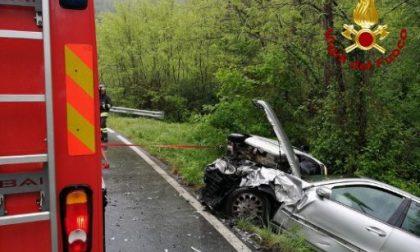 Incidente, coinvolte tre auto sulla strada provinciale della Valgraveglia