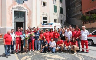 Una nuova ambulanza per la Croce Rossa