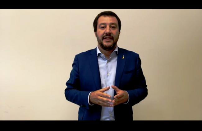 Amministrative a Camogli, il video messaggio di Salvini per Pompei