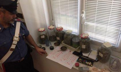 Trovato con 1.3 Kg di Hashish, arrestato