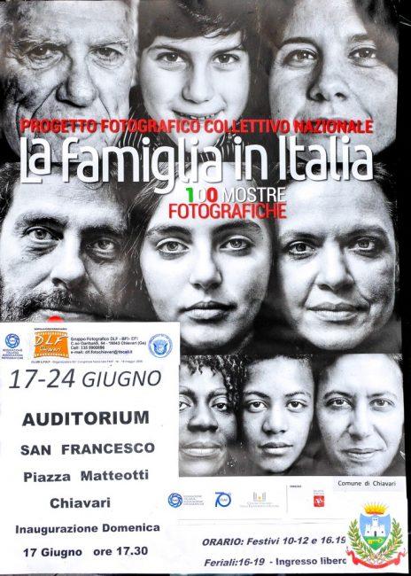 La famiglia in Italia: la mostra a Chiavari