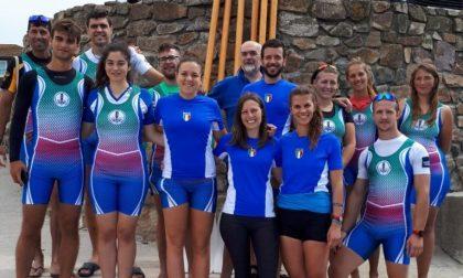 La squadra della Ficsf in Cornovaglia
