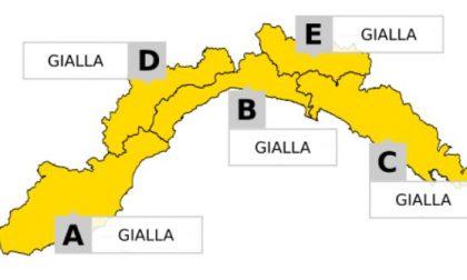 Allerta gialla, ritorna la pioggia su tutta la regione
