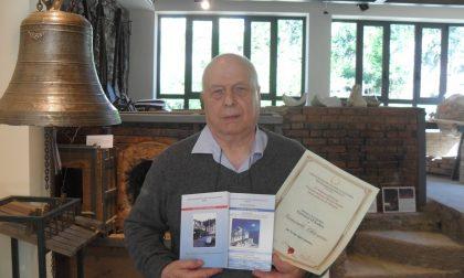 Premio Poesia:riconoscimento a Giancarlo Chiossone