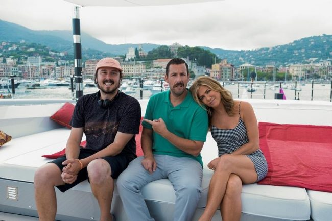 Murder Mystery: Jennifer Aniston e Adam Sandler sul set a Como!