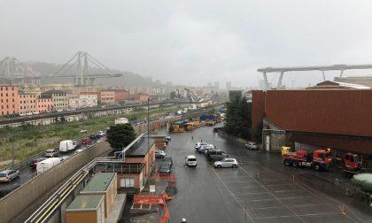Un fulmine avrebbe colpito il ponte Morandi secondo un testimone