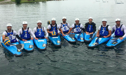 Mondiali di canoa polo in Canada, secondo posto per gli azzurri
