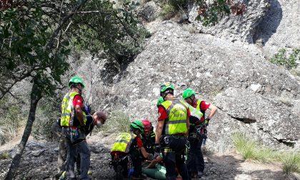 Intervento di soccorso sul Monte di Portofino