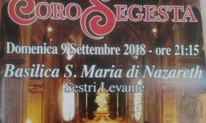 Sestri, domani sera il concerto del Coro Segesta