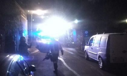 Camogli, ieri sera un incendio nell'area del Migliaro