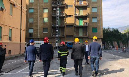 Ponte Morandi, rientro sfollati, Toti: «Chiusa fase di emergenza abitativa»