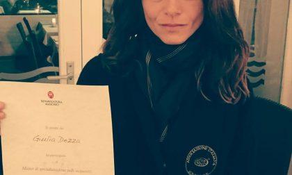 L'unica sommelier ligure al Master in Veneto è la monegliese Giulia Dezza