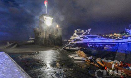 Terremoto durante la mareggiata del 29 ottobre 2018
