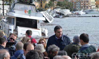 Maltempo, oggi lunedì 5 novembre Giorgetti, Toti e Giampedrone a Rapallo