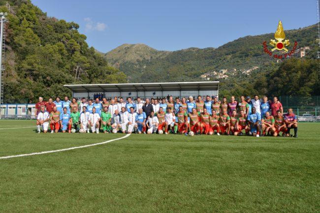 Allenamento calcio Sampdoria nazionali