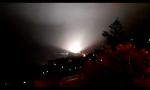 Maltempo, treno colpito da un fulmine a Bogliasco