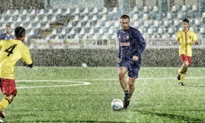 Antonio Cassano in campo ieri sera per Virtus Entella-Rivarolese