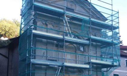 Boasi: i residenti rifanno il look alla facciata della chiesa di San Tommaso
