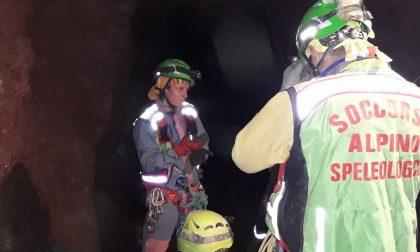 Gambatesa, ieri esercitazione all'interno della miniera