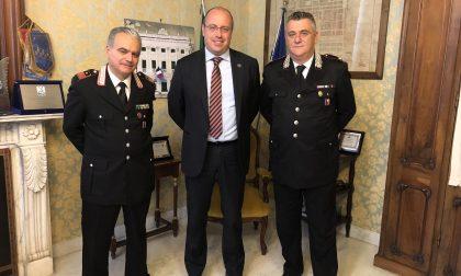 Incontro tra il Sindaco e il nuovo Comandante dei Carabinieri