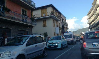 Chiavari, schianto auto-moto: grave al San Martino il centauro