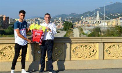 Luca Raggio e l'U.S. Pontedecimo ricordano le vittime del Ponte Morandi