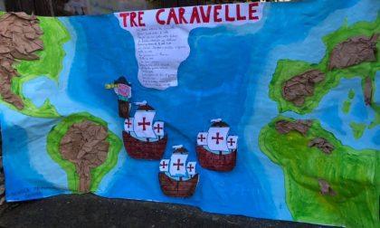 Moconesi, gli alunni delle scuole ricordano Cristoforo Colombo