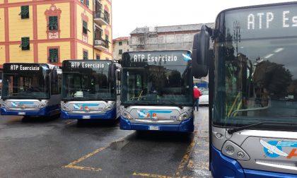 6 nuovi autobus inaugurati a Rapallo, ATP: «Altri 40 entro inizio 2019»