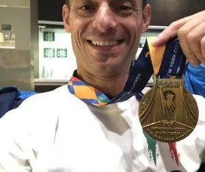 Un pezzo di Mezzanego a New York, Perona alla maratona