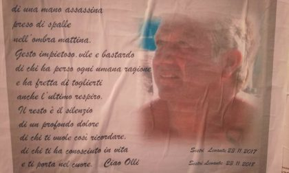 Manifesto per ricordare Antonio Olivieri ad un anno dalla morte