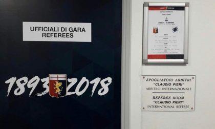 Uno spogliatoio del Ferraris intitolato a Claudio Pieri