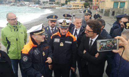 Il ministro Toninelli a Santa Margherita