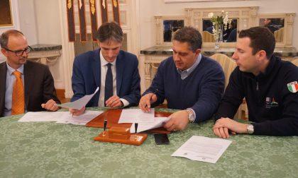 Santa Margherita Ligure, Toti e Donadoni firmano convenzione per progetto esecutivo canale scolmatore