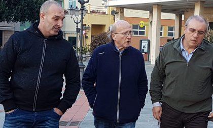 Zoagli:  visita sopralluogo del senatore Francesco Bruzzone