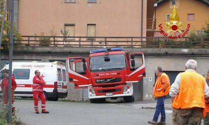 Cacciatore cade lungo la scarpata, il soccorso dei Vigili del fuoco