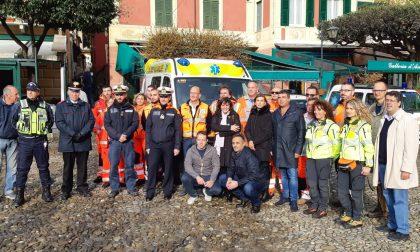 A Portofino è arrivata l'ambulanza attrezzata