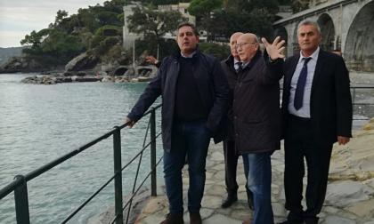 Toti a Zoagli: «Superare la Bolkestein per aiutare i balneari a ricostruire»