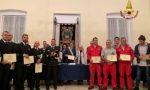 Santa Margherita, vigili del fuoco premiati dal consiglio comunale