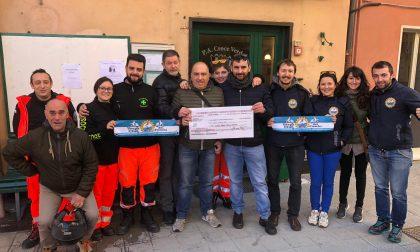 La generosità del Vespa Club: donati 600 euro alla Croce Verde di Sestri