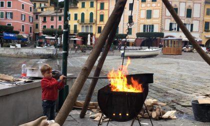 Le caldarroste del piccolo Giacomo, simbolo della rinascita di Portofino