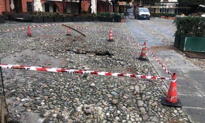 Il maltempo continua a infierire su Portofino: cede la mitica Piazzetta