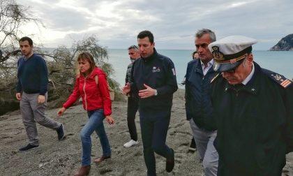 Moneglia e Renà, Regione già al lavoro per il dopo mareggiata