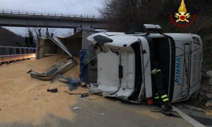 Incidente stradale sull'A7