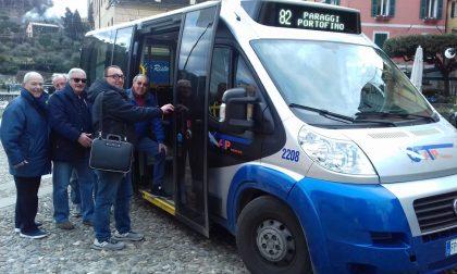Tutto esaurito per la linea 82 tra Santa e Portofino