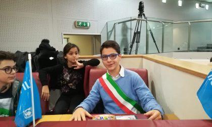 Lorenzo Aragone sindaco dei ragazzi di Pieve