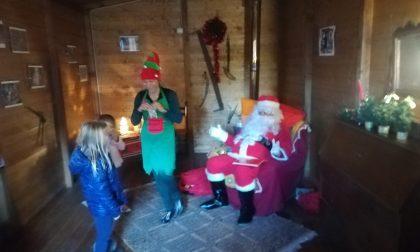 Ad Avegno il cattivo tempo saluta Babbo Natale