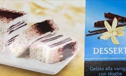 Dessert alla vaniglia ritirato dai supermercati
