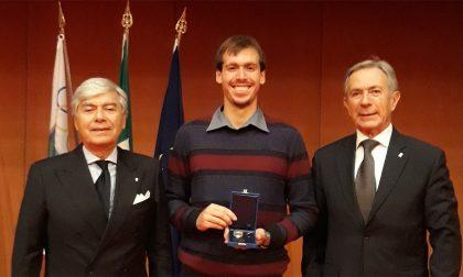 Medaglia di bronzo al Valore Atletico per Simone Mangiante