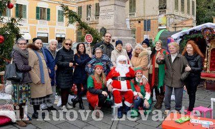 Gli ospiti della Casa Morando al Villaggio di Babbo Natale